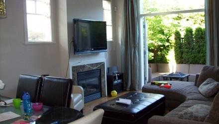 Before – Oak St. – Living Room