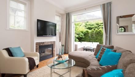 After – Oak St. – Living Room