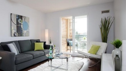 After – Vancouver – Living Room