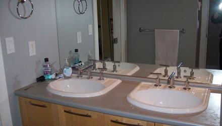 Before – Arbutus Walk – Bathroom