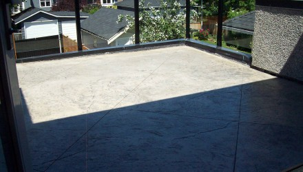 Before – Vancouver – Master Bedroom Patio
