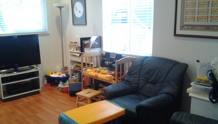 Before – W. 17th Ave. – Family Room