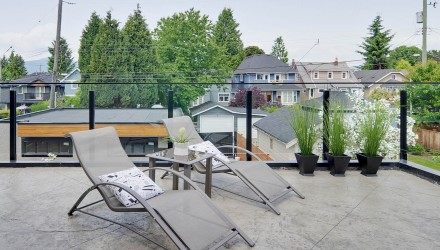After – Vancouver – Master Bedroom Patio