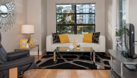 After – Arbutus Walk – Living Room