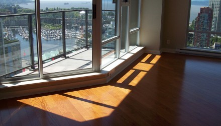 Before – Yaletown – Living Room
