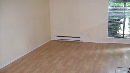 Before – W. 7th Ave. – Living Room