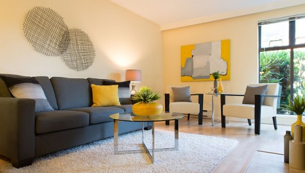 After – W. 7th Ave. – Living Room