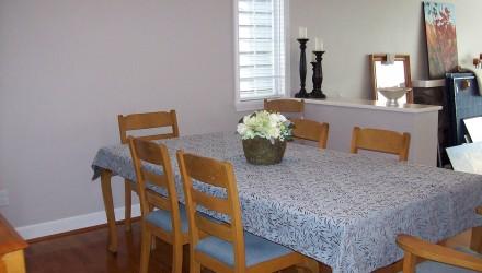 Before – Dunbar – Dining Room